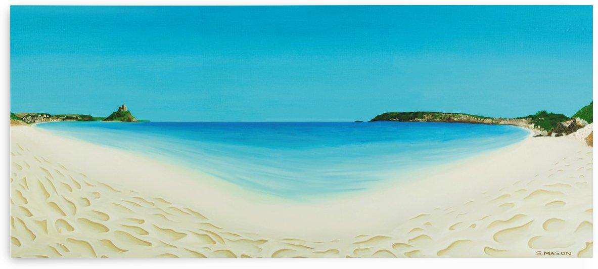 Perfect day (longrock beach Marizion) by simon mason