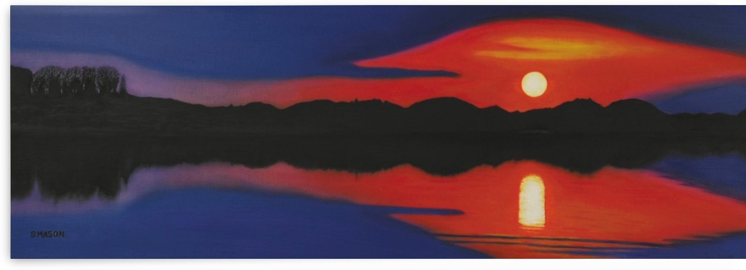 Setting Sun . by simon mason
