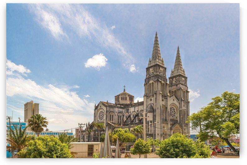Metropolitan Cathedral Fortaleza Brazil by Daniel Ferreia Leites Ciccarino