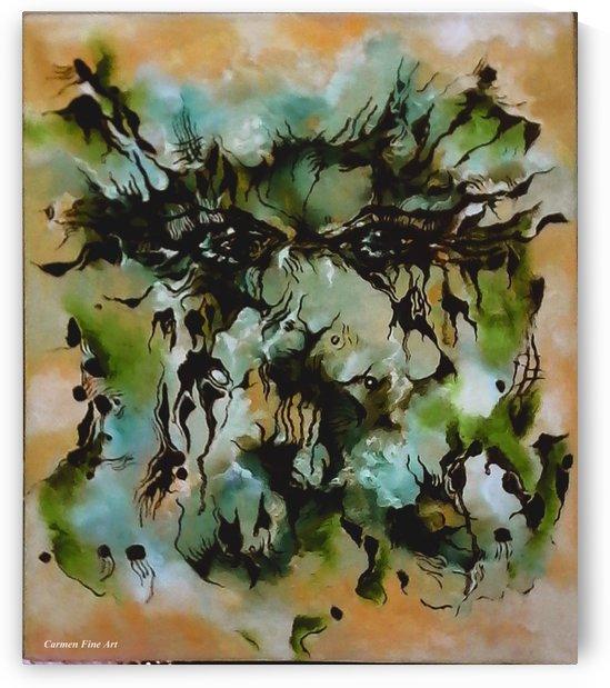 Perceptive Expression by Carmen Fine Art