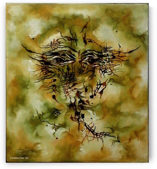 Piece with Spirit by Carmen Fine Art