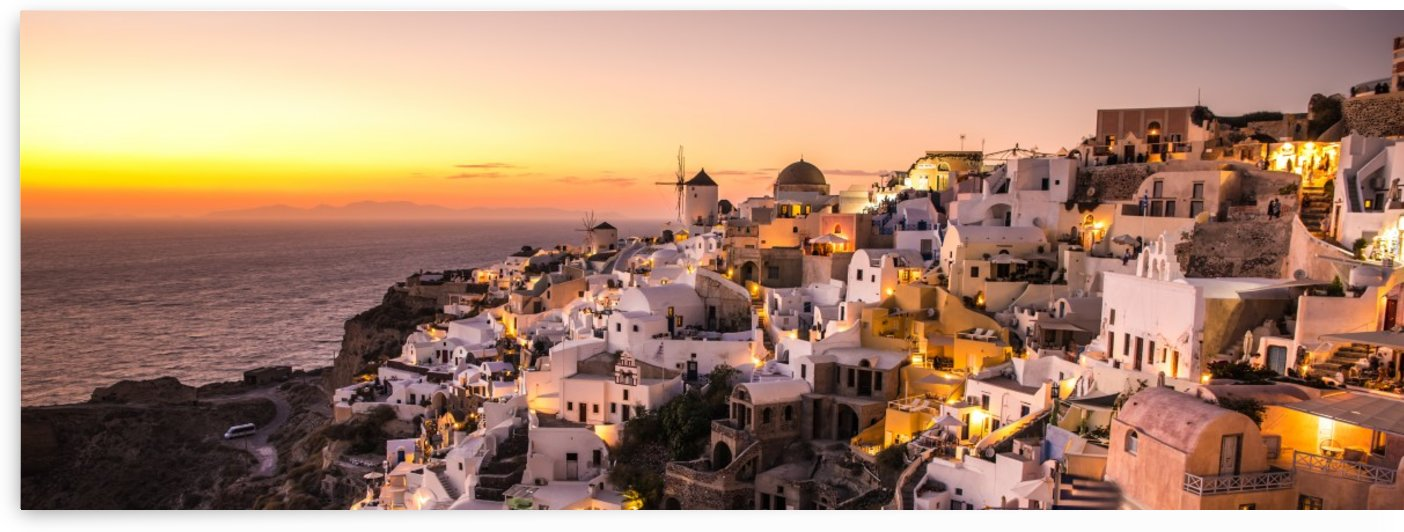 Oia Sunset by Fabien Dormoy