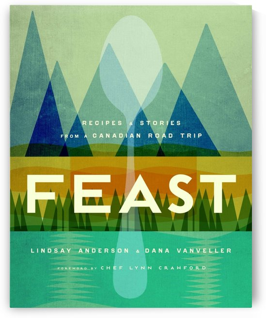 Canadian Road Trip - Feast by VINTAGE POSTER