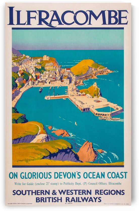 Ilfracombe, British Railways Poster by VINTAGE POSTER