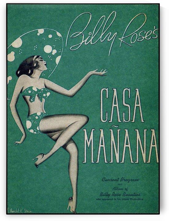 Casa Manana by VINTAGE POSTER