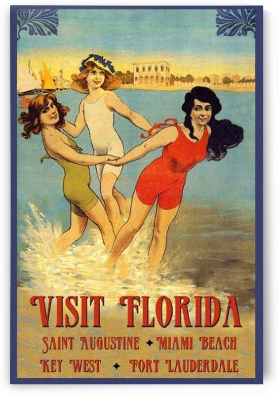 Visit Florida by VINTAGE POSTER