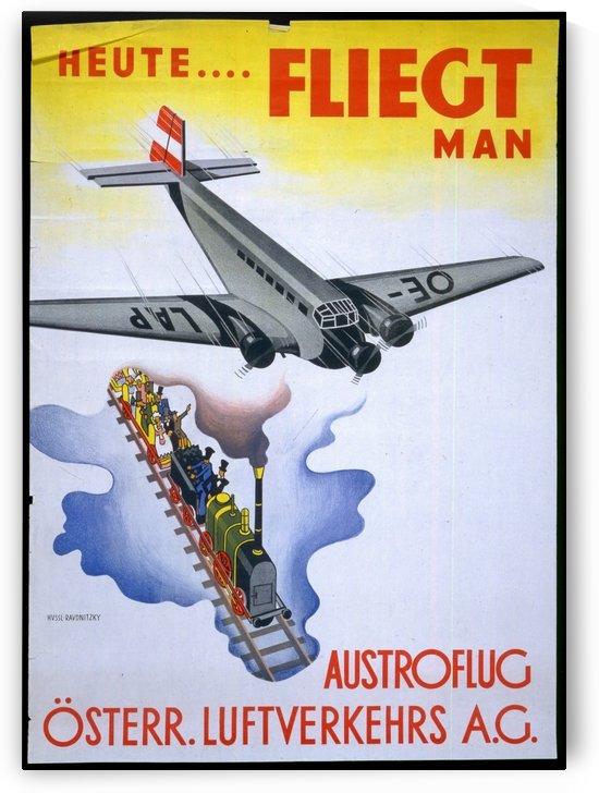 Austroflug by VINTAGE POSTER