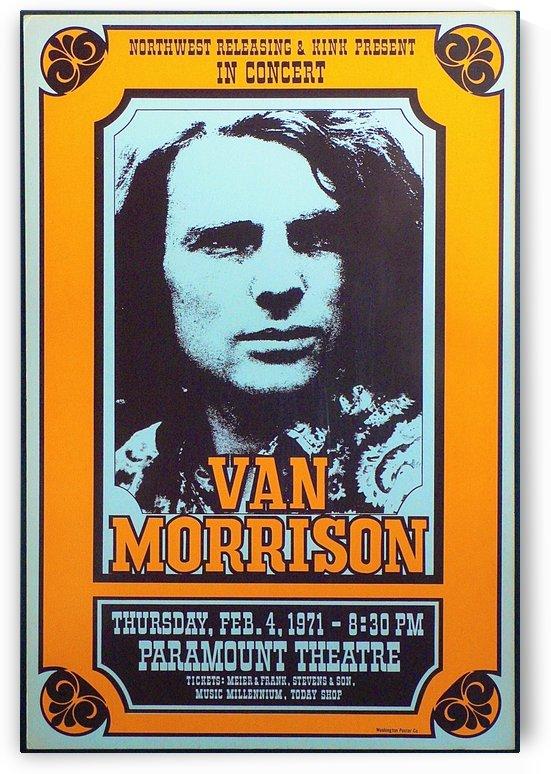 Van Morrison by VINTAGE POSTER