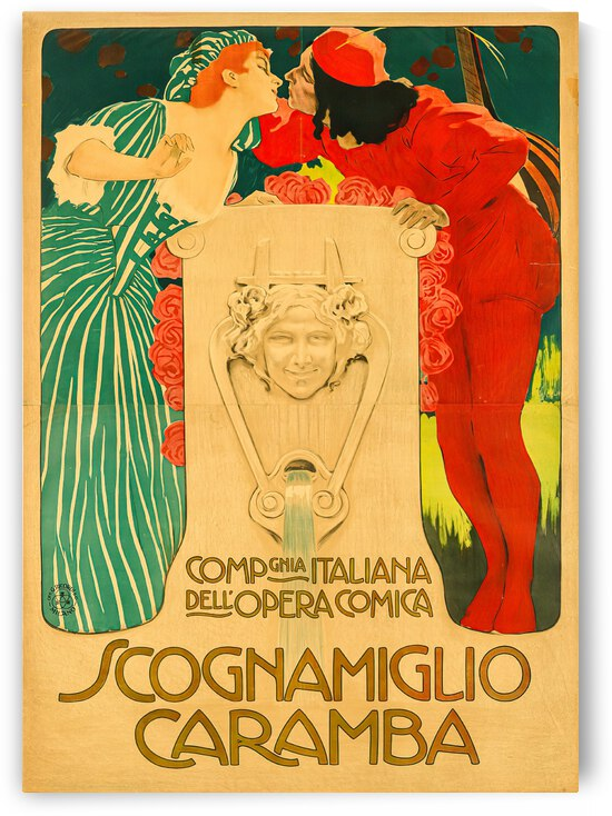 Scognamiglio Caramba by VINTAGE POSTER
