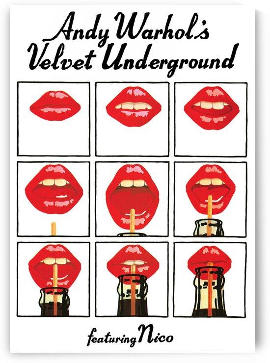 Velvet Underground featuring Nico by VINTAGE POSTER
