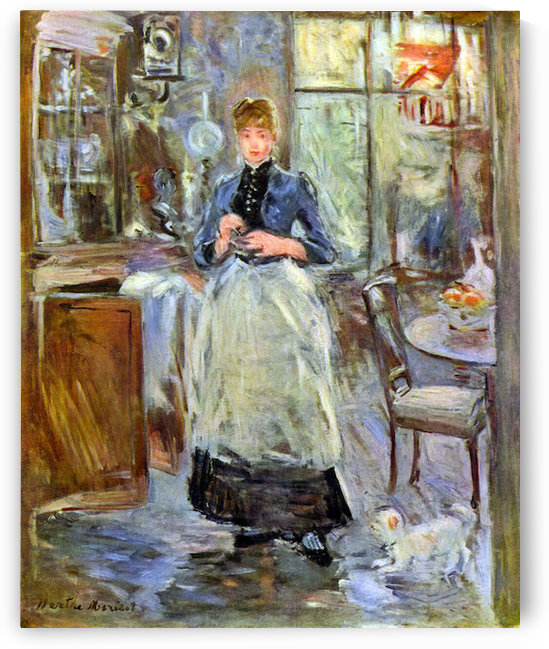 The Dining Room by Morisot by Morisot