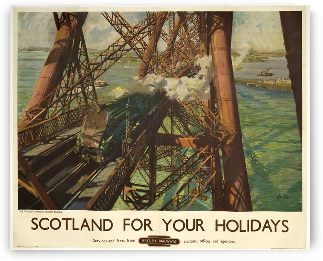 Scotland for your holidays by VINTAGE POSTER