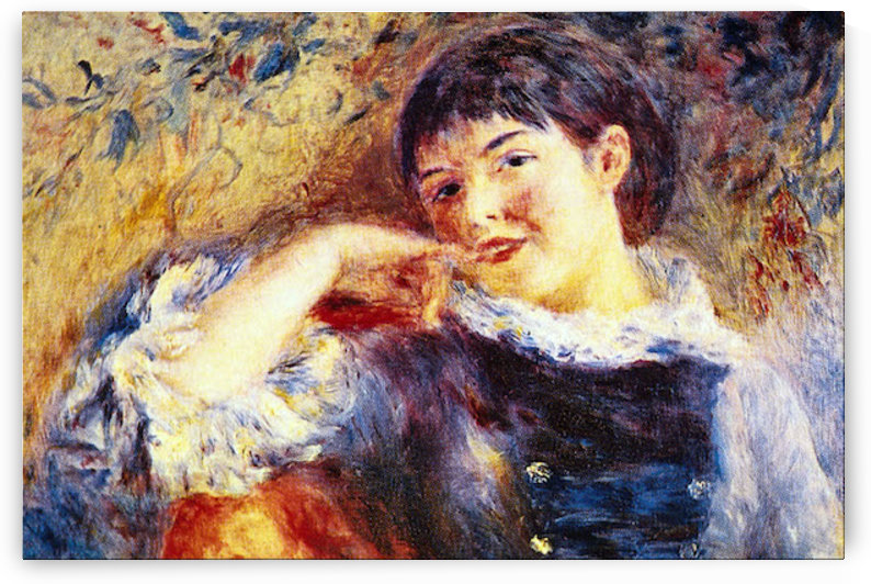 The Dreamer by Renoir by Renoir