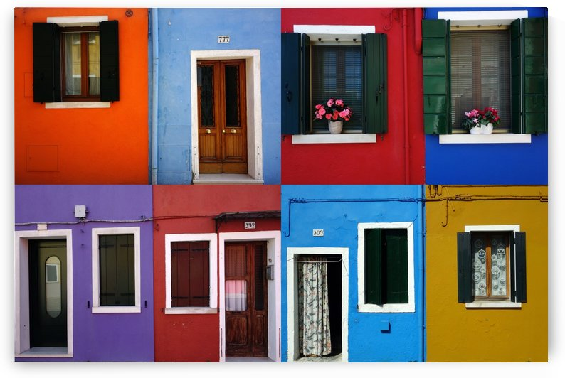 Burano patchwork I by iko