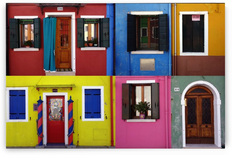 Burano patchwork II by iko