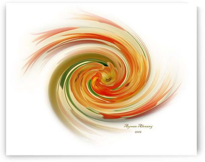 The whirl, W1.6A by Ayman Alenany