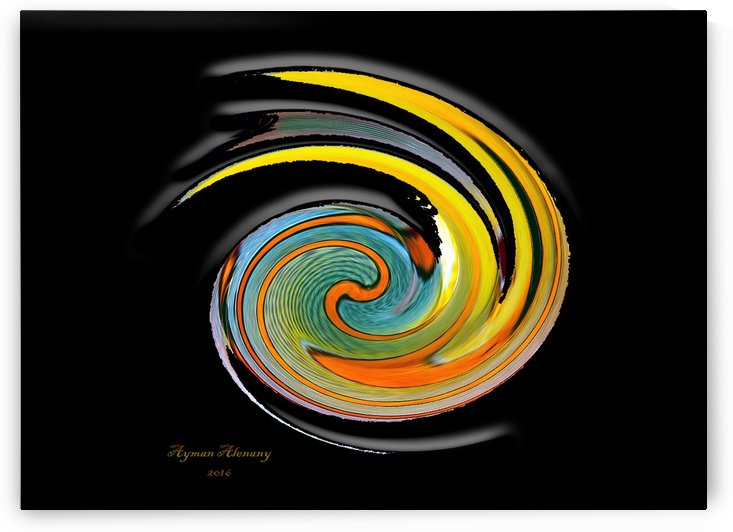 The whirl, W1.11B2 by Ayman Alenany