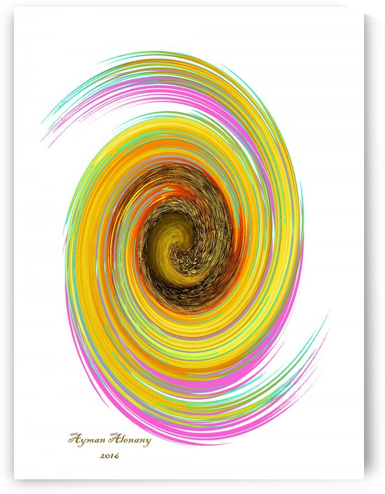 The whirl, W7.2A by Ayman Alenany