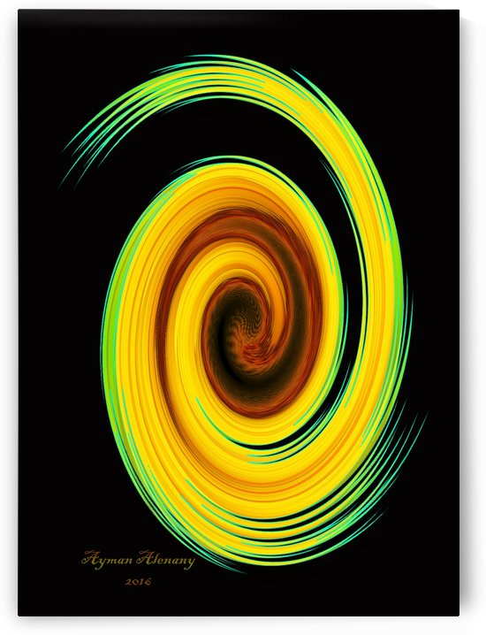 The whirl, W6.2B by Ayman Alenany