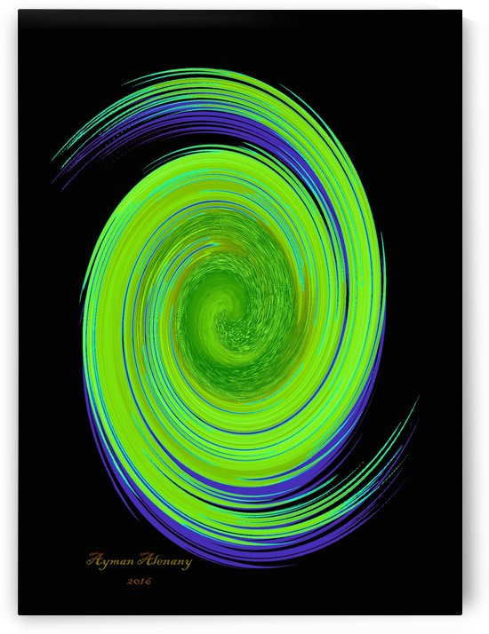 The whirl, W7.1B by Ayman Alenany