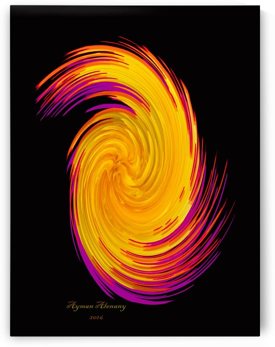The whirl, W8.1B by Ayman Alenany