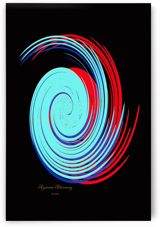 The whirl, W9.1B by Ayman Alenany