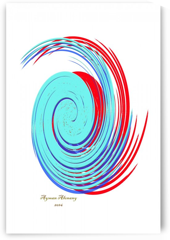 The whirl, W9.1A by Ayman Alenany
