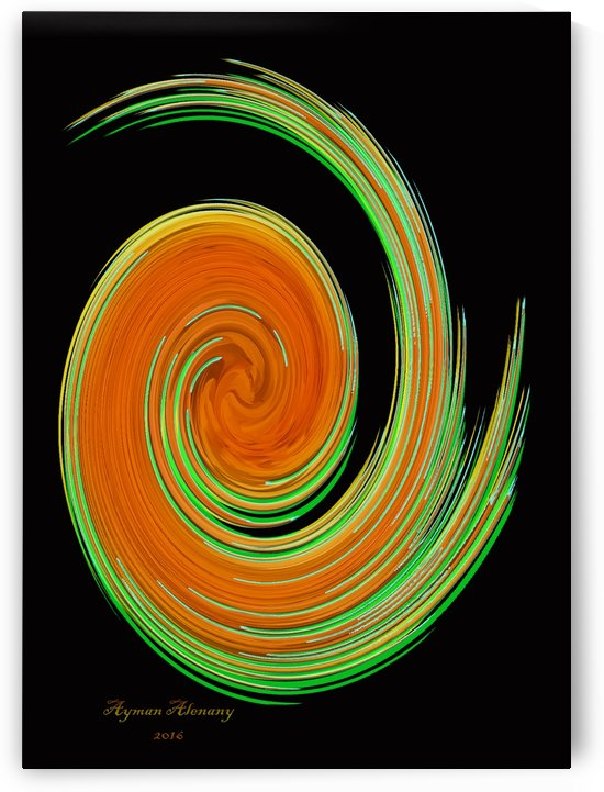 The whirl, W10.3B by Ayman Alenany