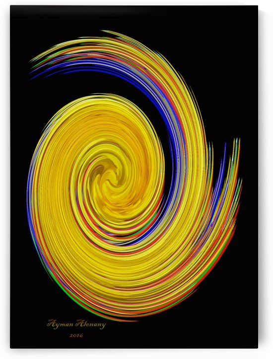 The whirl, W10.1B by Ayman Alenany