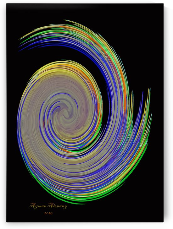 The whirl, W10.2B by Ayman Alenany