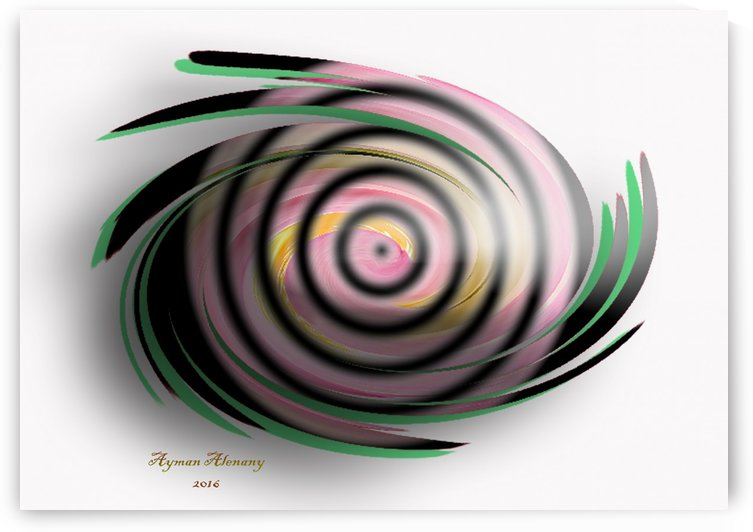 The whirl, W11.1A4 by Ayman Alenany