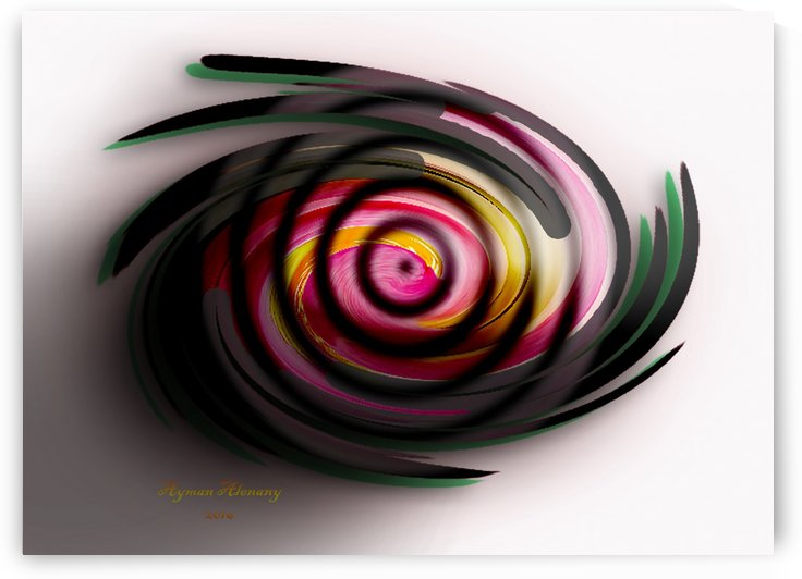 The whirl, W11.1A by Ayman Alenany