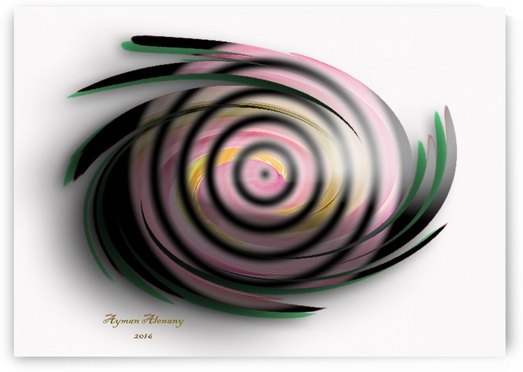 The whirl, W11.1A3 by Ayman Alenany