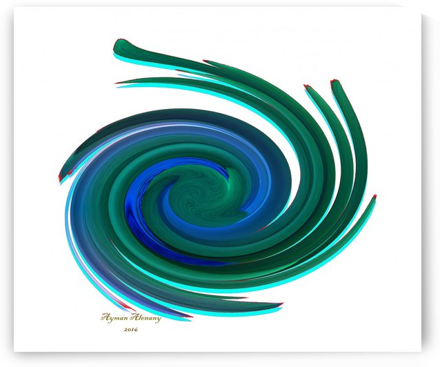 The whirl, W12.1A by Ayman Alenany