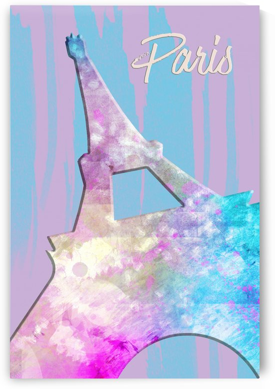 Graphic Style PARIS Eiffel Tower | pink by Melanie Viola