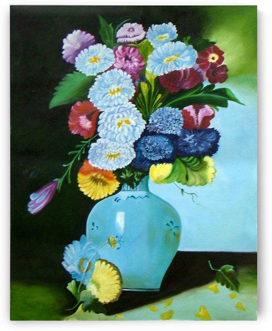 Floral Galaxy by Mrs Neeraj Parswal