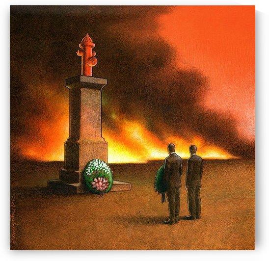 Monument by Pawel Kuczynski