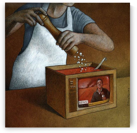 Hot news by Pawel Kuczynski