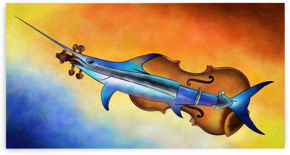 Fisholin V1 - instrumental fish by Cersatti Art