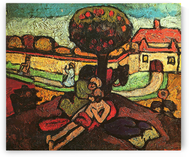 The merciful Samaritan by  Paula Modersohn-Becker by Paula Modersohn-Becker