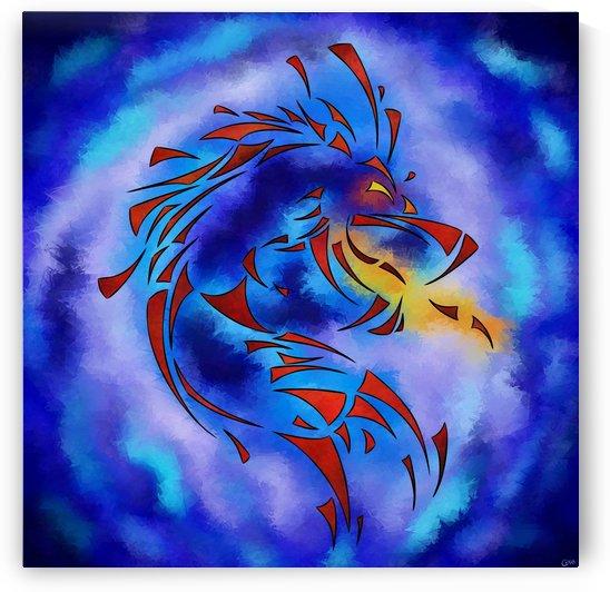 Glenfbach V1 - mystic dragon by Cersatti Art