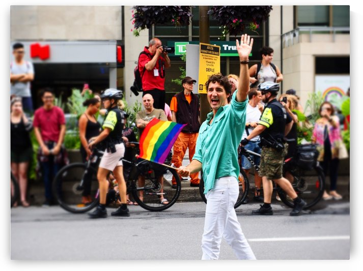 Justin Trudeau by GSPhoto