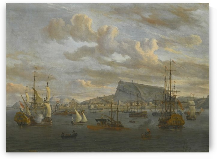 A view of Nafp by Abraham Storck