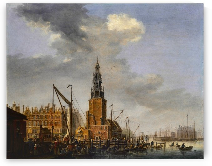 Haringpakkerstoren by Abraham Storck