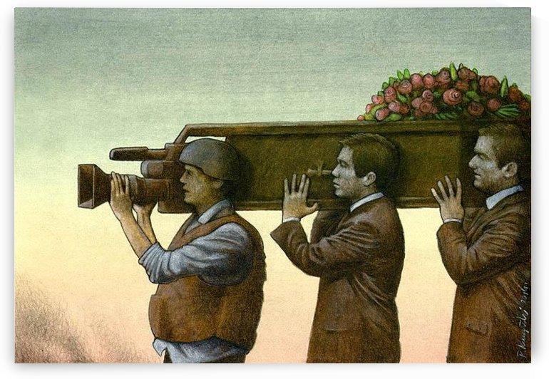 war correspondent by Pawel Kuczynski