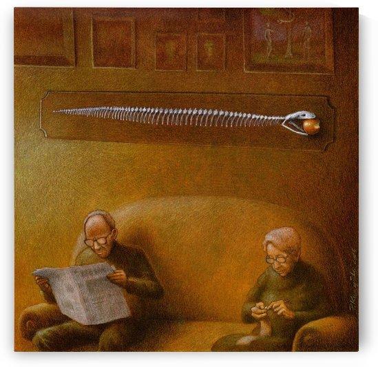Adam and Eve by Pawel Kuczynski