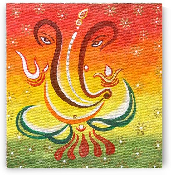 Lord Ganesha by Mrs Neeraj Parswal