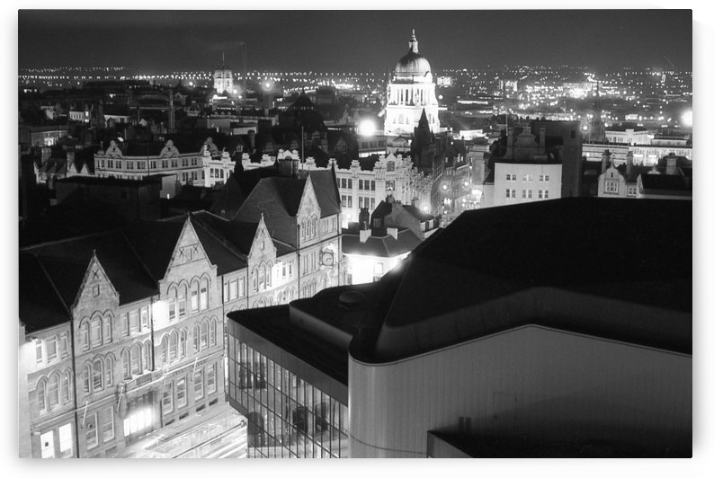 Nottingham by night 1989 by Andy Jamieson
