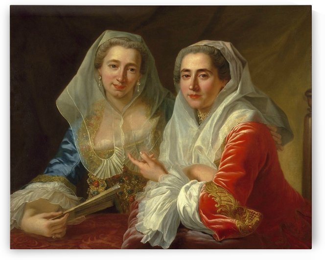 The Mirabita Sisters by Antoine de Favray