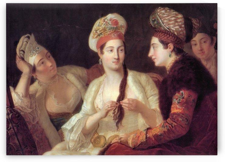 Turkish women by Antoine de Favray